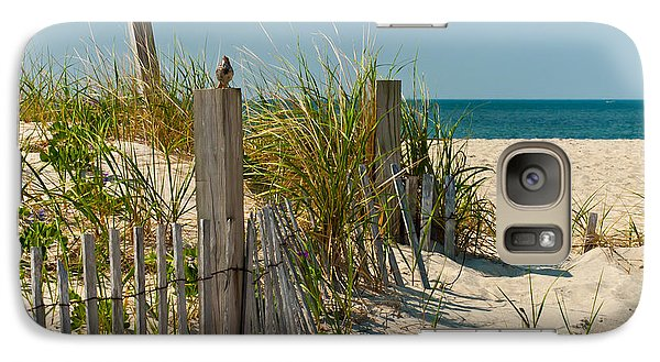 Sparrow Galaxy S7 Case - Singer At The Shore by Michelle Wiarda-Constantine