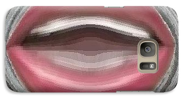 Galaxy Case featuring the digital art Singing by Catherine Lott