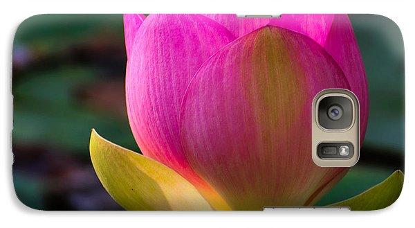 Galaxy Case featuring the photograph Single Blossum by John Johnson