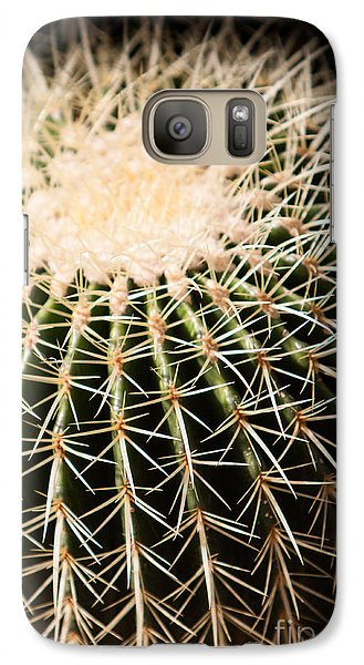 Galaxy Case featuring the photograph Single Cactus Ball by John Wadleigh