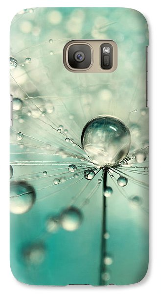 Galaxy Case featuring the photograph Single Dandy Starburst by Sharon Johnstone