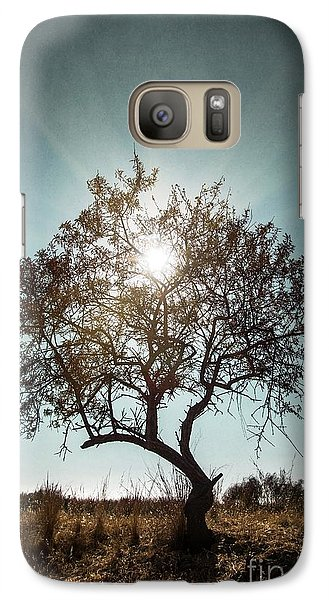 Galaxy Case featuring the photograph Single Tree by Carlos Caetano