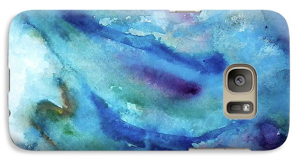 Galaxy Case featuring the painting Sinking by Anna Ruzsan
