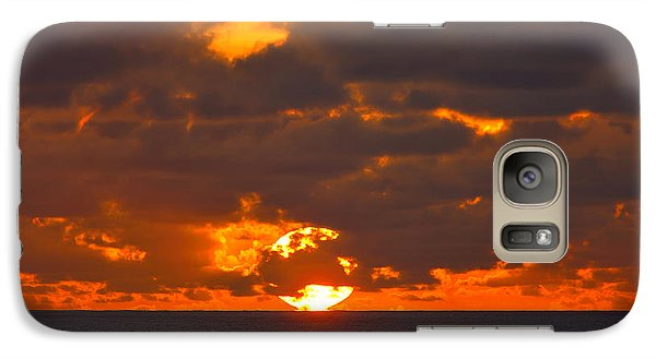 Galaxy Case featuring the photograph Sinking In The Sea by Greg Norrell