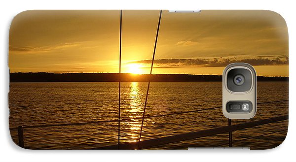 Galaxy Case featuring the photograph Stay Golden by Deena Stoddard