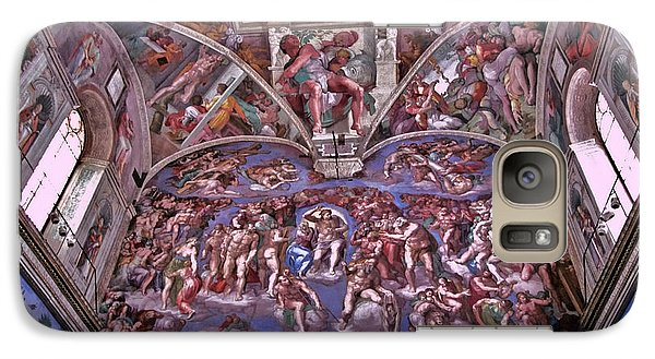 Galaxy Case featuring the photograph Sistine Chapel by Allen Beatty