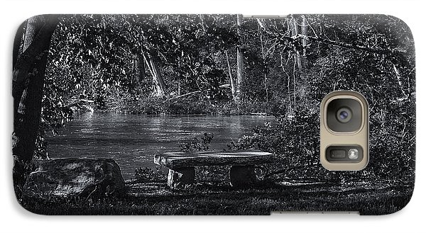 Galaxy S7 Case featuring the photograph Sit And Ponder by Mark Myhaver