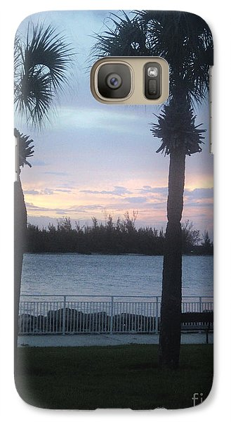 Galaxy Case featuring the photograph Sit Here And Dream  by Megan Dirsa-DuBois
