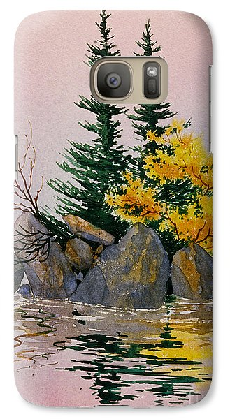 Galaxy Case featuring the painting Sitka Isle by Teresa Ascone