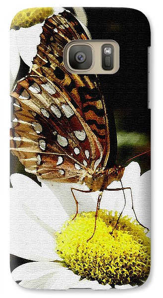 Galaxy Case featuring the photograph Sitting Pretty  by James C Thomas
