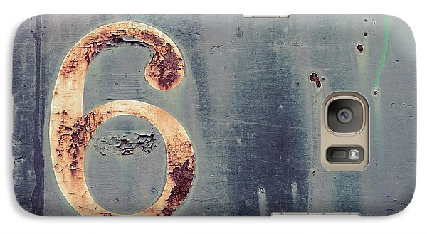 Galaxy Case featuring the photograph six by Takeshi Okada