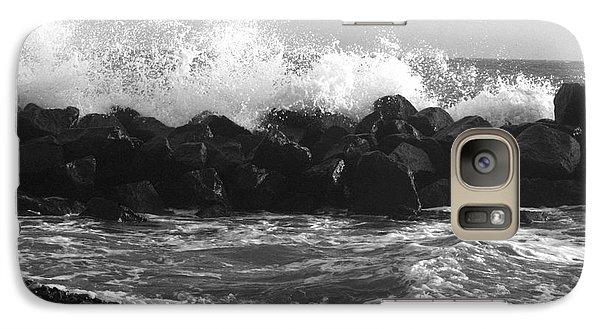 Galaxy Case featuring the photograph Skagen Waves by Randi Grace Nilsberg