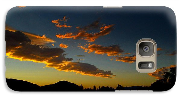 Galaxy Case featuring the photograph Skaha Lake Sunset 02 July02/2013 by Guy Hoffman