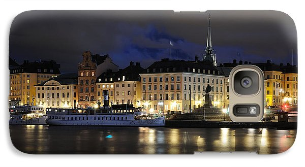 Galaxy Case featuring the photograph Skeppsbron At Night by Jeremy Voisey