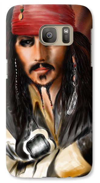 Sketching A Pirate... Galaxy S7 Case