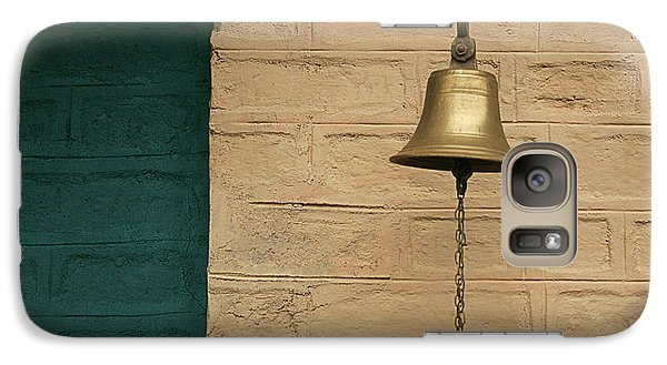 Galaxy Case featuring the photograph Skc 0005 A Doorbell by Sunil Kapadia