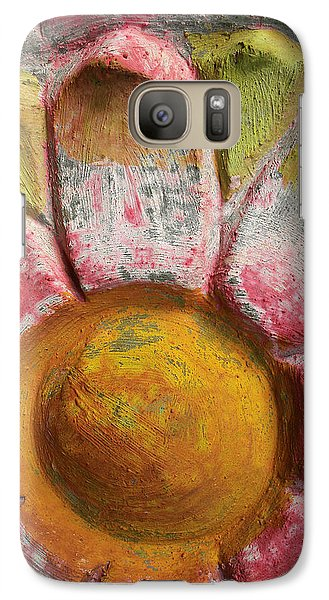 Galaxy Case featuring the photograph Skc 0008 Scraped Paint by Sunil Kapadia
