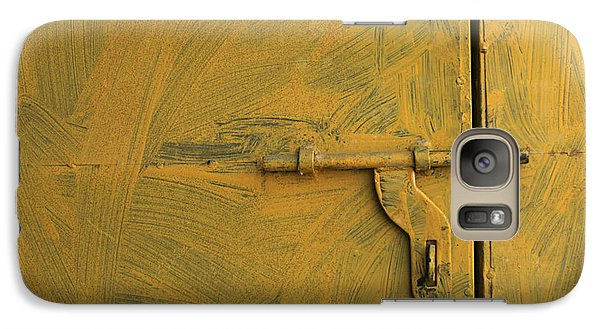 Galaxy Case featuring the photograph Skc 0047 The Door Latch by Sunil Kapadia