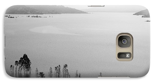 Galaxy Case featuring the photograph Skc 0055 A Hazy Riverscape by Sunil Kapadia
