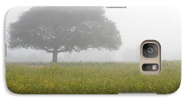 Galaxy Case featuring the photograph Skc 0056 Tree In Fog by Sunil Kapadia