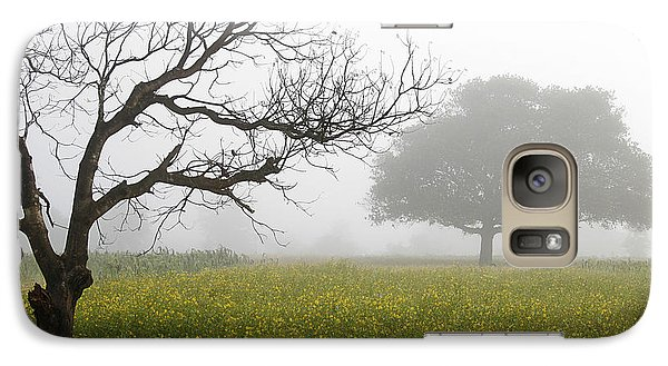 Galaxy Case featuring the photograph Skc 0058 Contrasty Trees by Sunil Kapadia
