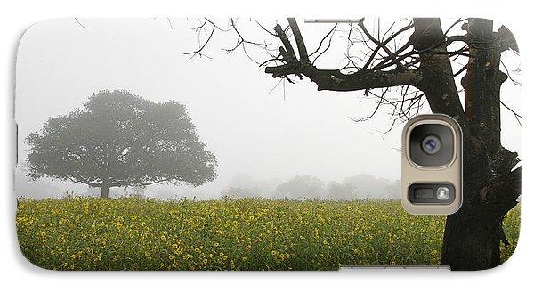 Galaxy Case featuring the photograph Skc 0060 Framed Tree by Sunil Kapadia