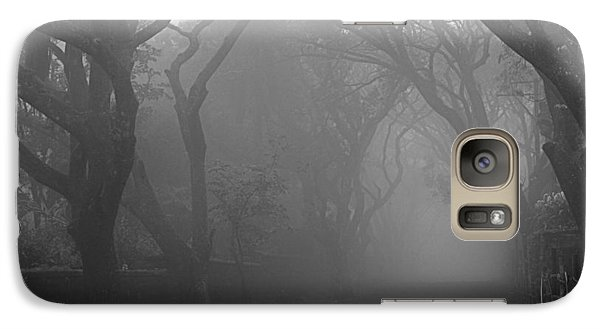 Galaxy Case featuring the photograph Skc 0077 A Romatic Path by Sunil Kapadia