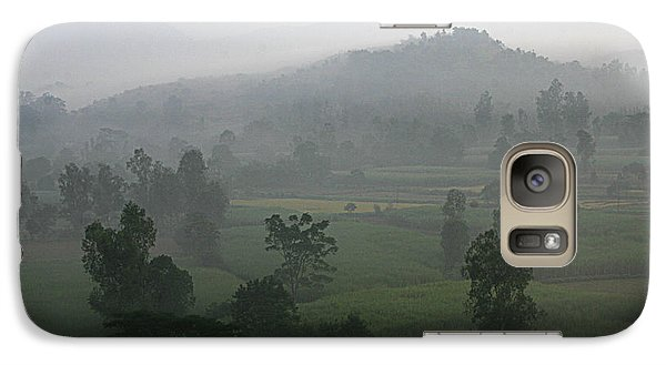 Galaxy Case featuring the photograph Skc 0079 A Winter Morning by Sunil Kapadia