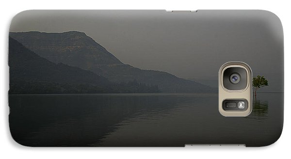 Galaxy Case featuring the photograph Skc 0086 Solitary Isolation by Sunil Kapadia