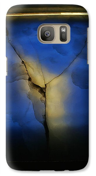 Galaxy Case featuring the photograph Skc 0243 Cracked Y by Sunil Kapadia