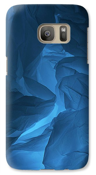 Galaxy Case featuring the photograph Skc 0247 A Mystery In Blue by Sunil Kapadia