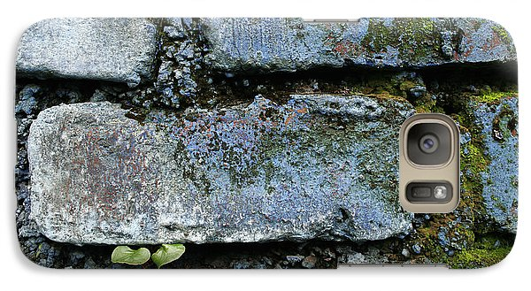 Galaxy Case featuring the photograph Skc 0301 Tiny Twin Leaves by Sunil Kapadia