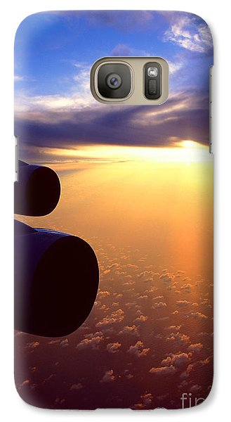 Galaxy Case featuring the photograph Sky Above 30000 Feet  by Aiolos Greek Collections