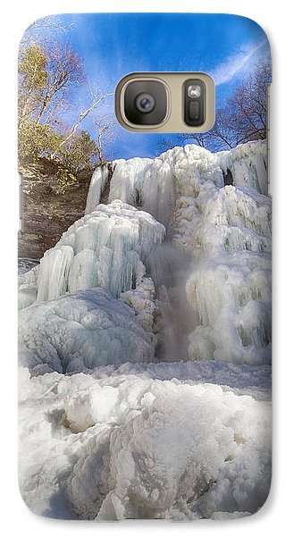 Galaxy Case featuring the photograph Sky And Ice by Alan Raasch