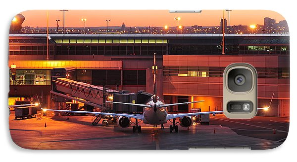 Galaxy Case featuring the photograph Sky Blends With Air Plan  by Puzzles Shum