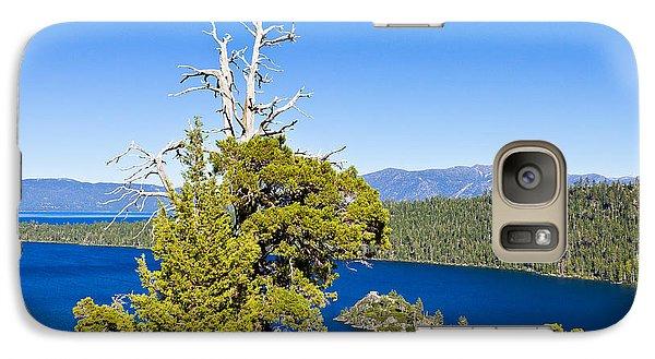 Sky Blue Water - Emerald Bay - Lake Tahoe Galaxy S7 Case
