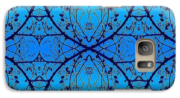Galaxy Case featuring the photograph Sky Diamonds Abstract Photo by Marianne Dow
