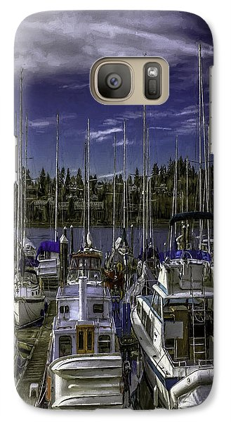 Galaxy Case featuring the photograph Sky Embrace by Jean OKeeffe Macro Abundance Art