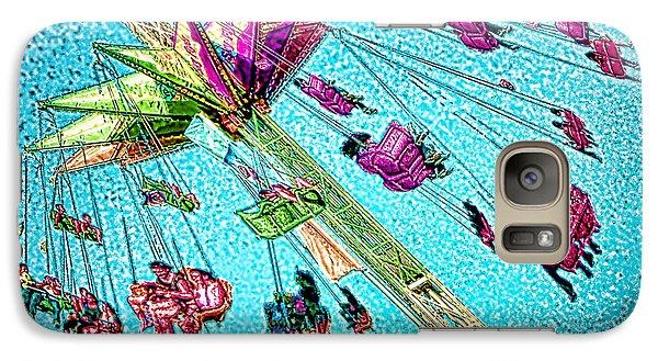 Galaxy Case featuring the digital art Sky Flyer by Jennie Breeze