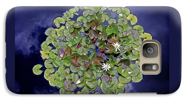Galaxy Case featuring the photograph Sky Lilies by Zafer Gurel