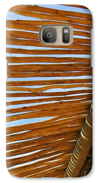Galaxy Case featuring the photograph Sky-lined  by Joy Hardee