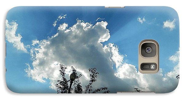 Galaxy Case featuring the photograph Sky Phenomenon At Hains Point by Emmy Marie Vickers