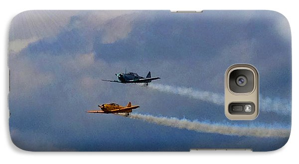 Galaxy Case featuring the photograph Sky Raiders  by Michael Rucker