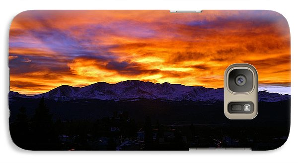 Galaxy Case featuring the photograph Sky Shadows by Jeremy Rhoades
