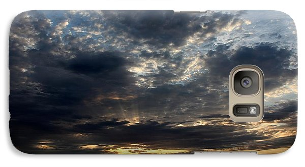 Galaxy Case featuring the photograph Sky Show 1 by Erica Hanel