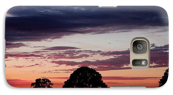 Galaxy Case featuring the photograph Sky Show 2 by Erica Hanel