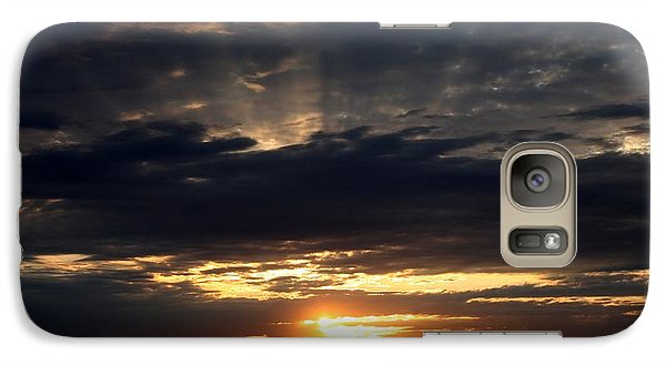 Galaxy Case featuring the photograph Sky Show 3 by Erica Hanel