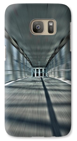 Galaxy Case featuring the photograph Skydome Dreamwalk by Brian Carson