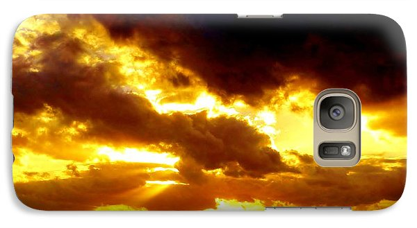 Galaxy Case featuring the photograph Skygold by Amar Sheow