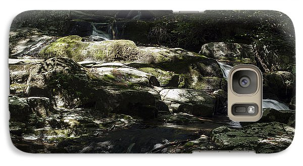 Galaxy Case featuring the photograph Skyline Cascads 2 by David Lester